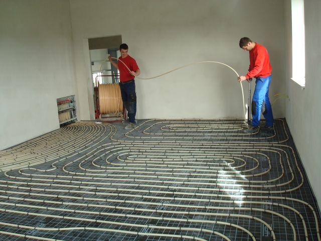 Installateur greibich for Boden heizung